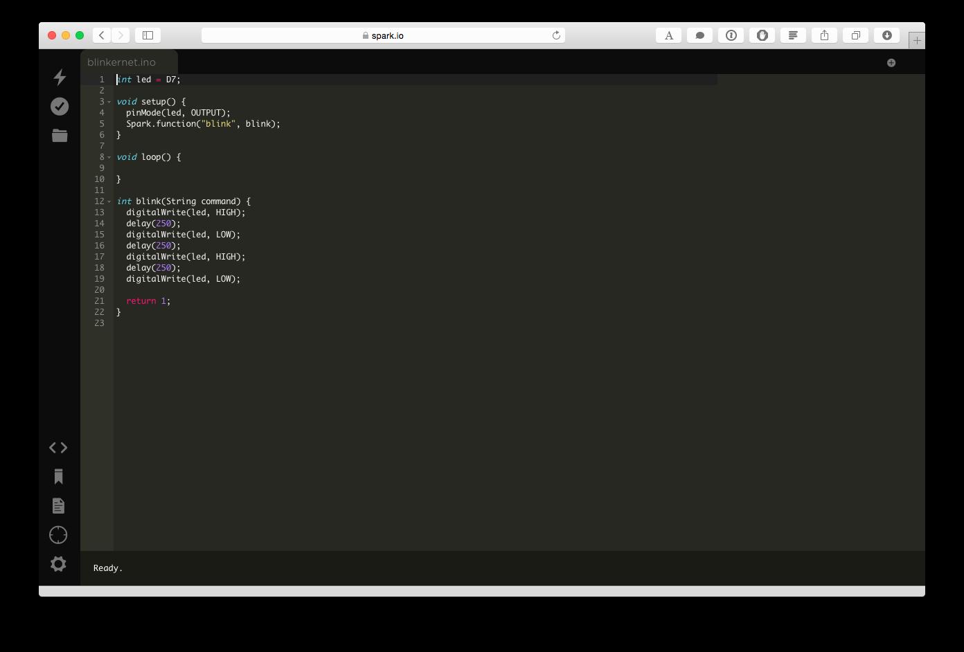 Spark Web IDE